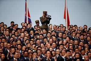 عرض عسكري كوريا الشمالية