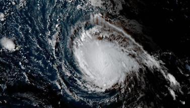 صور فضائية تظهر إعصار إيرما