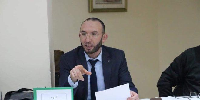 الدكتور محمد العفاس - تائب عن ائتلاف الكرامة