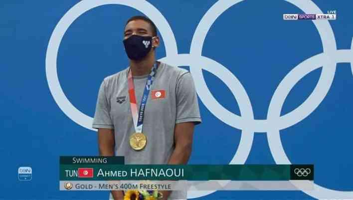 أحمد الحفناوي صاحب يحصد-أول-ذهبية-لتونس وللعرب في أولمبياد طوكيو 2021