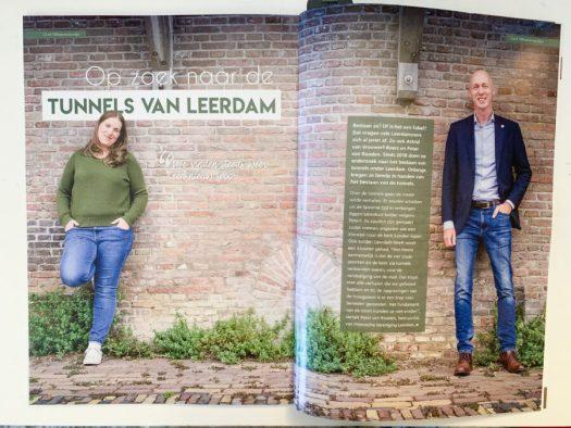 Tunnels van Leerdam in VIJF Magazine - foto