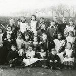 Tunstead School Class from 1898