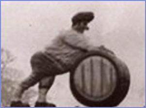 Tunstead Barrel Man