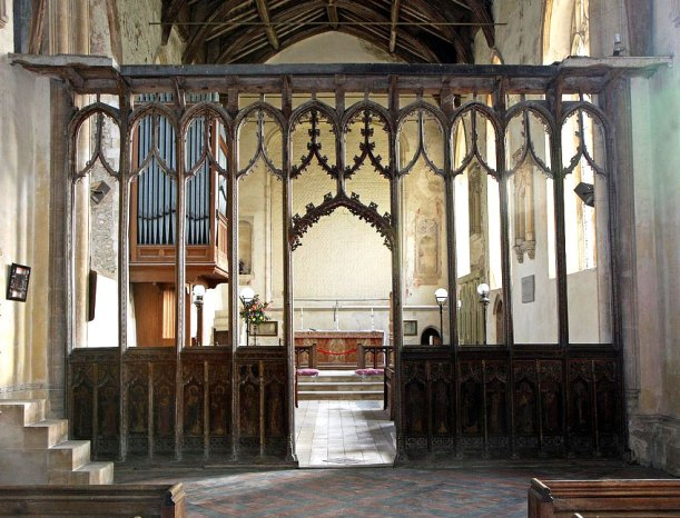 Rood Screen of Tunstead St Mary Church, Norfolk