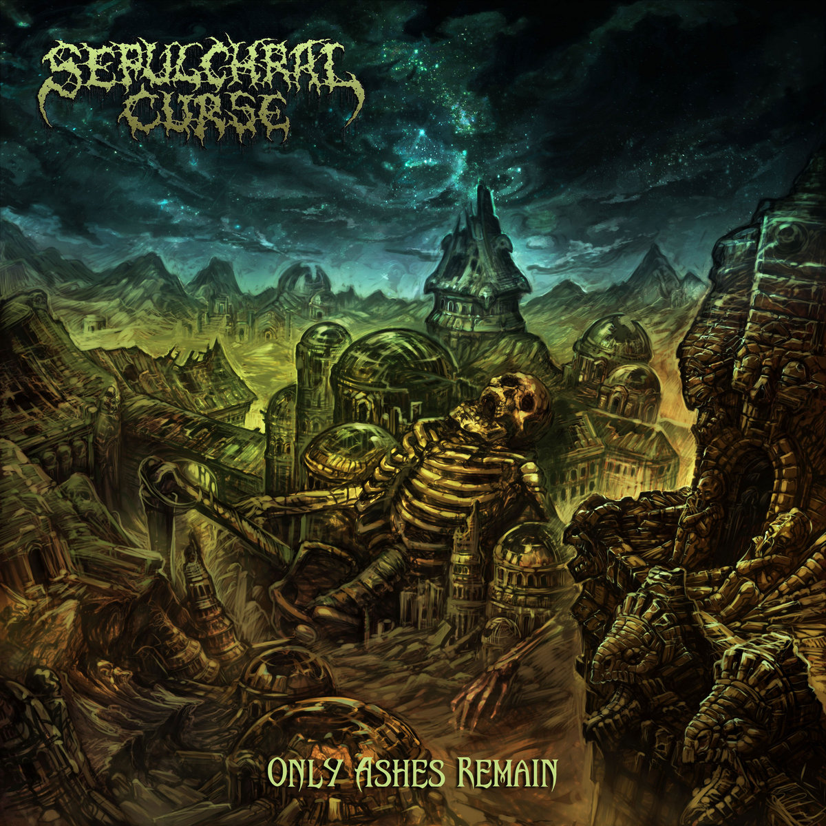 REVIEW: Sepulchral Curse – Only Ashes Remain