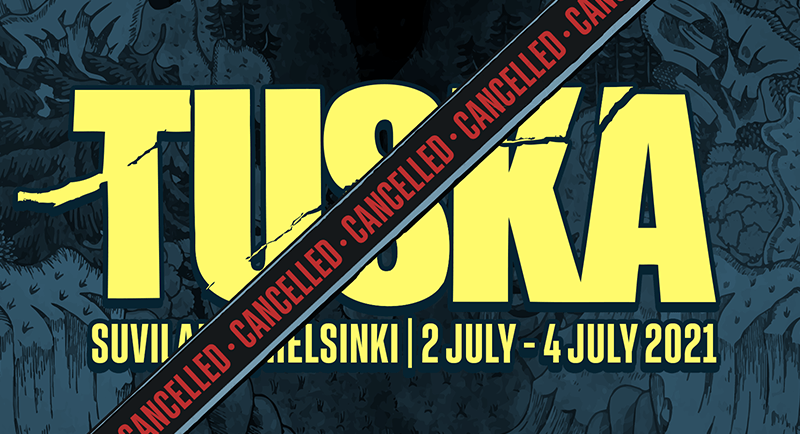 Tuska 2021 canceled due to COVID-19.