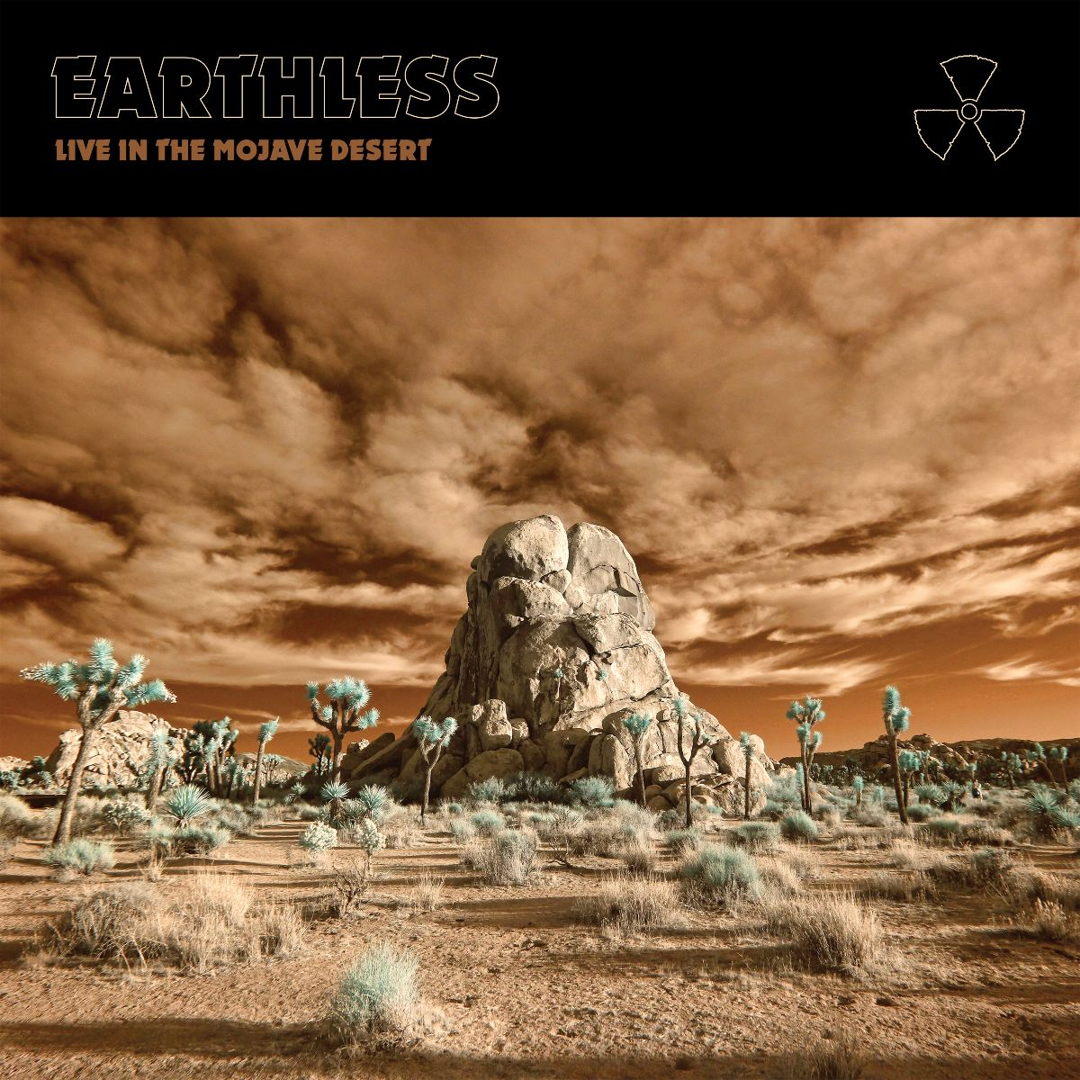 "EARTHLESS Releases new live album ""Live In The Mojave Desert"""