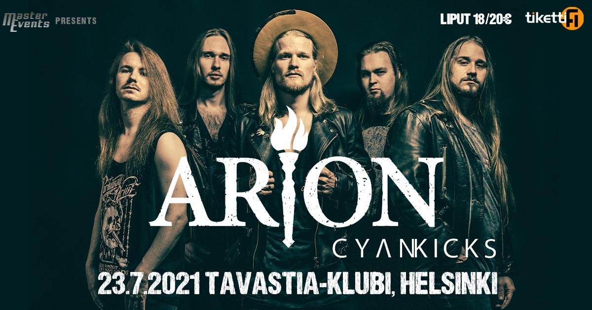 23.7.2021 Cyan Kicks & Arion @ Tavastia, Helsinki