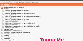 Cách chỉnh sửa Grub trên Ubuntu đơn giản với Grub customizer