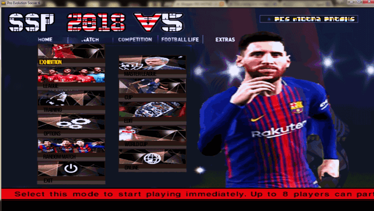 PES 6 Super Star Patch v5 HD - Patch Update PES 6 mới nhất 2017
