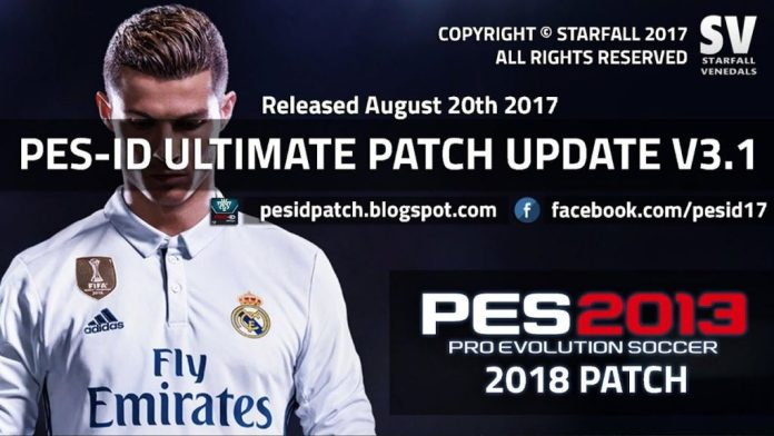 PES-ID Ultimate Patch 2013 v3.1 – Patch PES 2013 mới nhất 2017 PES-ID Ultimate Patch 2013 v3.1 – Patch PES 2013 mới nhất 2017