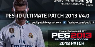 PES-ID Ultimate Patch 2013 v4.0 - Patch PES 2013 mới nhất 2017
