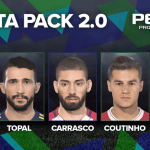 [Fshare] Download Update Patch 1.03 + Data Pack 2.0 For PES 2018 CPY Version