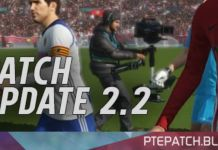 [Fshare] PTE Patch 2018 Update 2.2 – Patch PES 2018 mới nhất