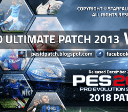 [Fshare] PES-ID Ultimate Patch 2013 v5.0 – Patch PES 2013 mới nhất 2018