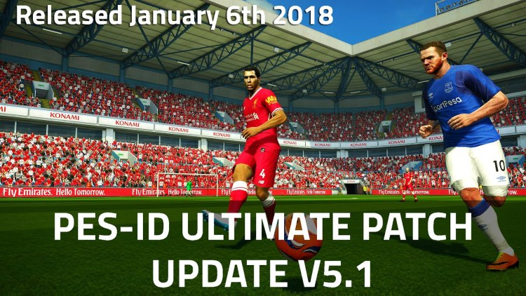 [Fshare] PES-ID Ultimate Patch 2013 v5.1 – Patch PES 2013 mới nhất 2018