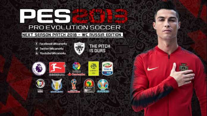 PES 2013 Next Season Patch 2018 - World Cup 2018 Russia Edition
