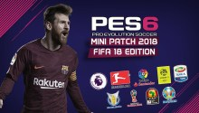 PES 6 Mini Patch FIFA 18 Edition - Patch PES 6 mới nhất 2018