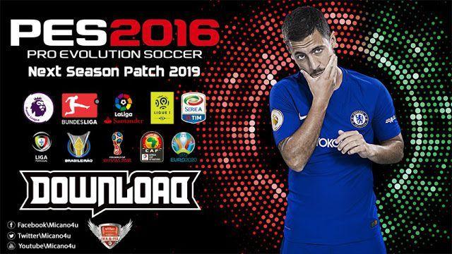 PES 2016 Next Season Patch 2019