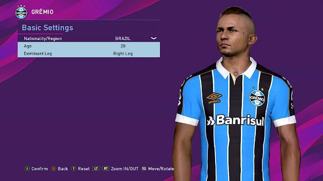 New Facepack for PES 2017 by PES Empire - Cập nhật face PES 2017