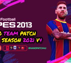 Download PES 2013 Pro Team Patch V4 - Update Season 2020-2021