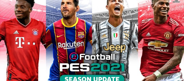 Download eFootball PES 2021 Datapack + Patch mới nhất