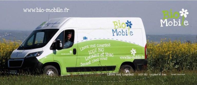 Camion Bio Mobile pour illsutrer l'article Bio Mobile du site internet www.tupinetsemons.fr