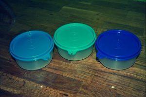 Drei Julchen von Tupperware