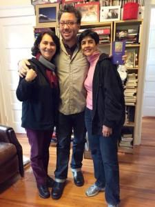 Nidia Hernández, Boris Muñoz y Marisela Valero: Foto Raiza Perrault
