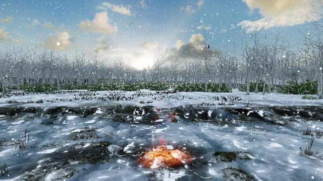 Calendario mas antíguo descubierto en el mundo. En Warren Field, Escocia. Foto BBC