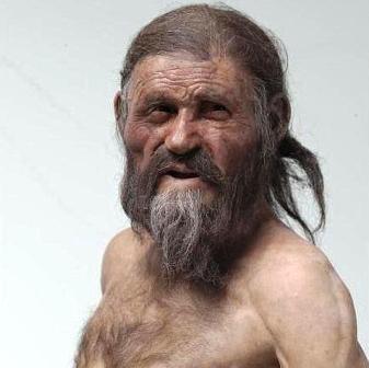 Otzi el hombre de hielo. Foto ABC