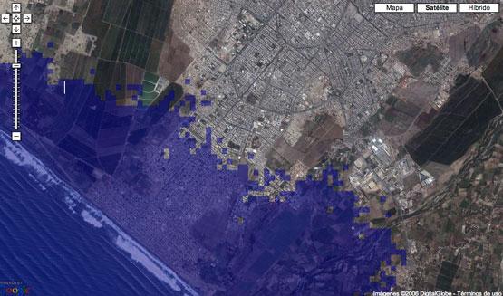 Un gran porcentaje de costas será afectada por al aumento de niveles del océano