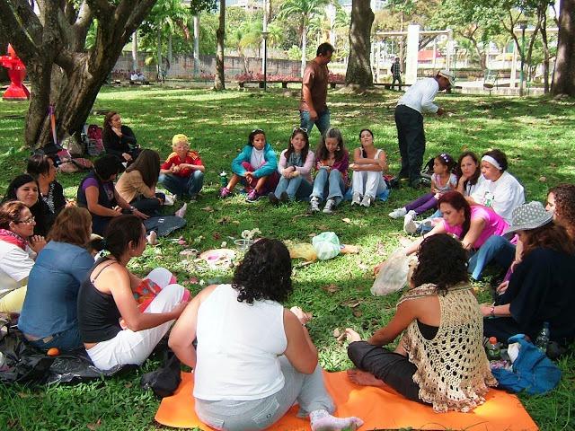 Círculo de Mujeres en el Parque del este, Caracas