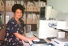 Dra. Gisela Cuenca Responsable del grupo de investigación de micorrizas. Foto IVIC
