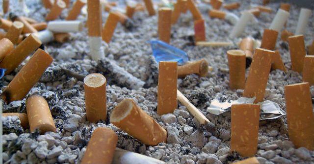 La contaminación por colillas de cigarrillo, un gran problema