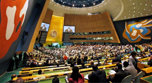 Mini-cumbre sobre Cambio Climático que las Naciones Unidas organizaron en septiembre 2014 en New York