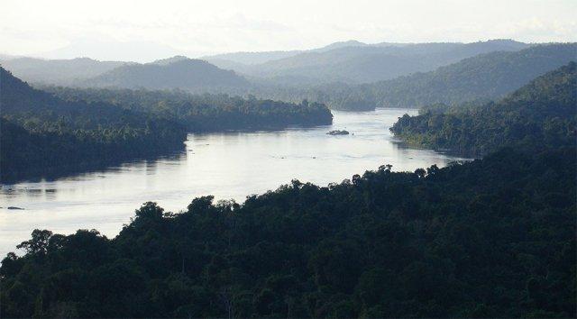 El bello paisaje de la Cuenca del Caura. Foto Globovision
