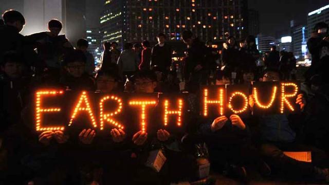 En muchos lugares ya comenzó y se cumplió la Hora del Planeta