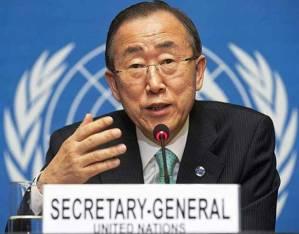 Secretario General, Ban Ki-moon