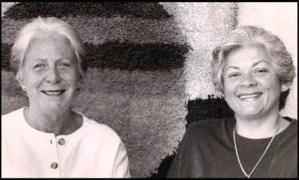 Elaine De Beauport y Aura Sofía Díaz.