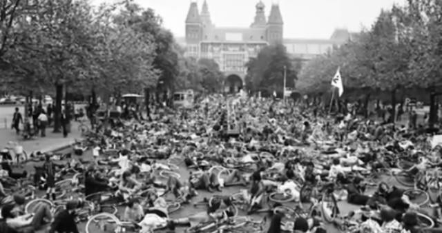 Protestas masivas en Holanda 1979