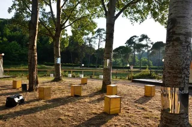 Arboles en lugar de tumbas. Foto Consuelo Fabrani y sus socias. Foto Arborvitae, foto de A3 paesaggio
