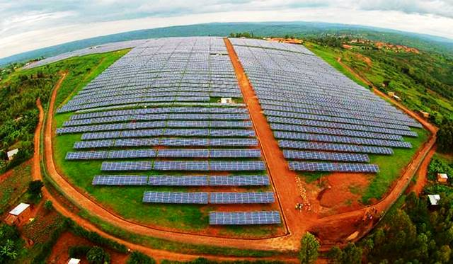 Planta solar de Rwamagana