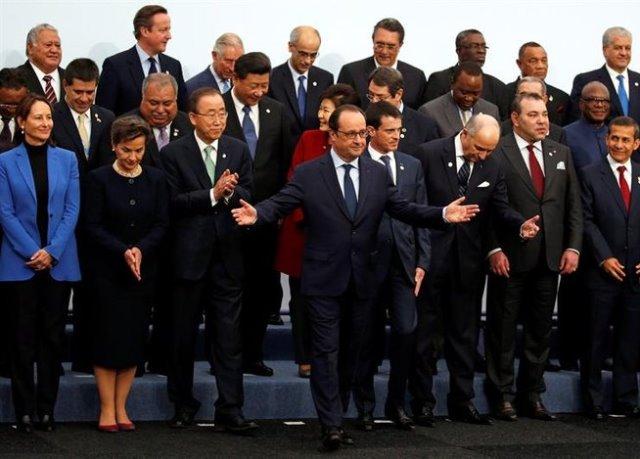 Representantes de 195 países asisten a la COP21