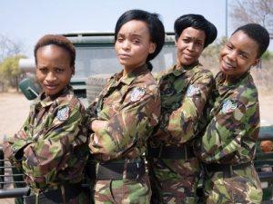 Las simpáticas y a la vez férreas mambas negras de Sudáfrica