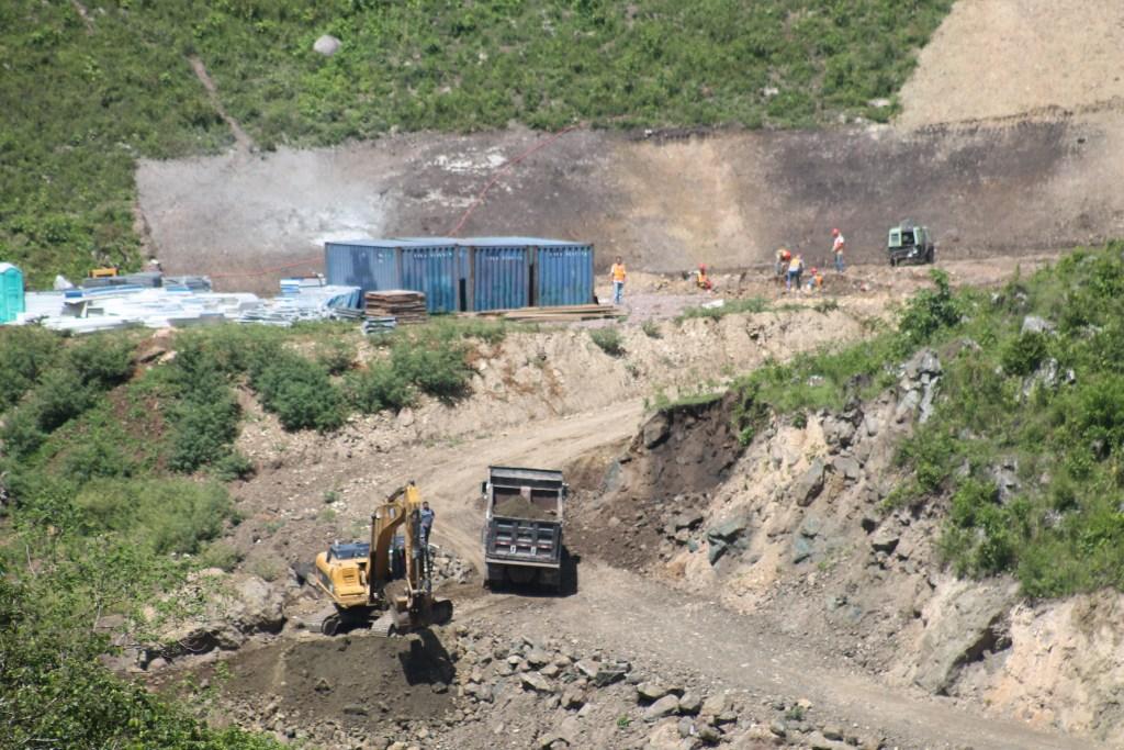 Proyecto Agua Zarca en Rio Gualcarque