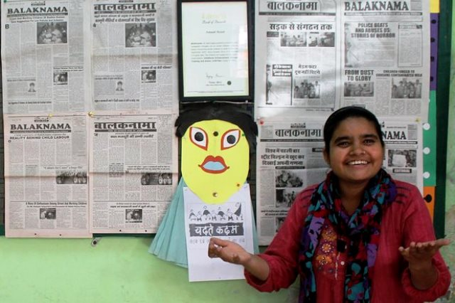 Chandni, la editora