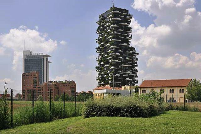 Bosco Verticale en Milan.