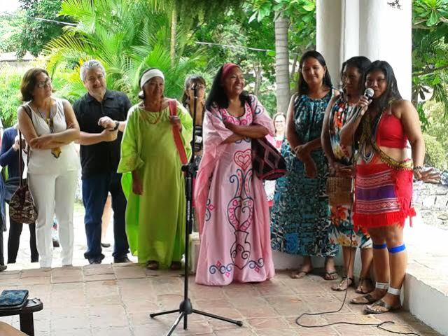 Inauguración de Exposición Nosotras nuestras manos, foto Fundación Tierra Viva
