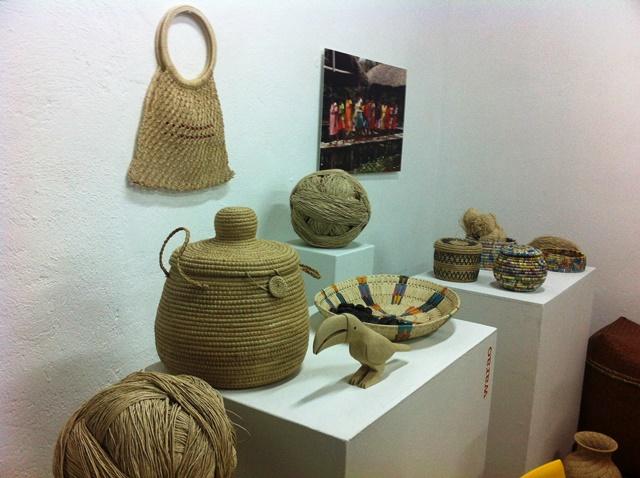 Objetos de la etnia Warao. Foto Marisela Valero